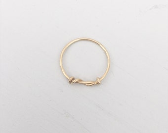 Thank you for being my bridesmaid gold ring, Gold wedding ring, Bridesmaid thank you gift