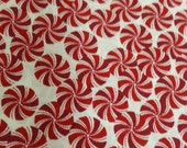 Red Peppermint Candy Handmade Standard Pillowcase Arvilla RubyTM