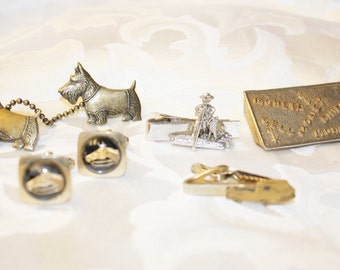 Tie Clasps - Horse Cuff links - Money Clip Collection