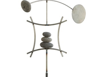 Balanced Arch | Kinetic Wind Sculpture | Yard Stake