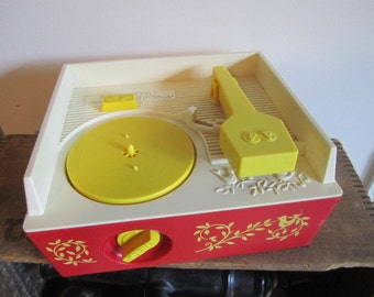 Fisher Price Music Box toy record player