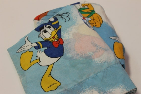 Vintage Disney Characters Bed Sheet SET