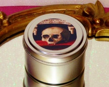 Memento Mori Vampire Skull Soy Candle Halloween Decor Haunted House Spooky Candles