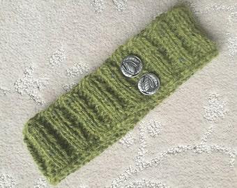knit spring headband
