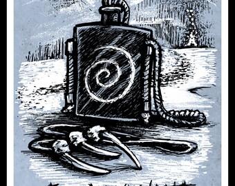 The Revenant - Fan Poster -  Archival Print Movie Illustration
