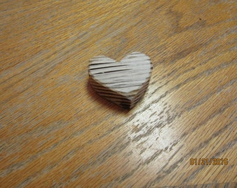 Handcrafted Driftwood Heart Love Wood Heart Shaped Cut Out
