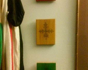 Ethiopian Coptic Cross Original Handmade Wall Hangings African Art