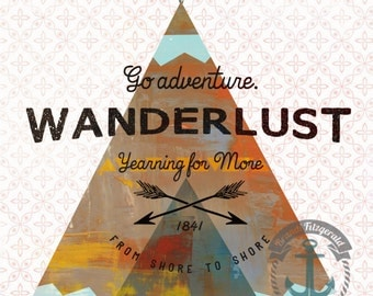 Wanderlust | Native American Inspired Wall Decor | Product Options and Pricing via Dropdown Menu