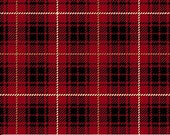 FLANNEL - Red Plaid from Northcott Fabric's Northwood Collection