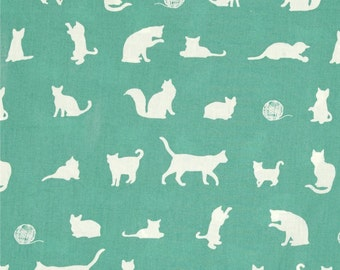 The Cat Chase Pool From Birch Organic Fabric's Farm Fresh Collection by Jay-Cyn Designs