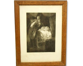 Shakespeare vintage print