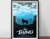 The Thing Movie Poster - 12 by 18 Inch Print - Horro Movie - John Carpenter