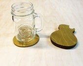 Gibson Wooden Drink Coasters