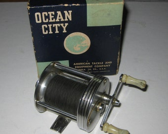 Ocean City No 1970 Baitcasting Fishing Reel collectible