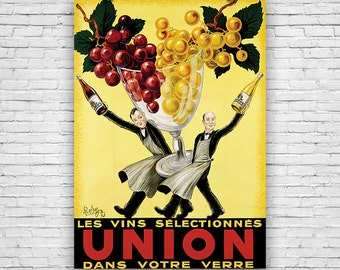 """Union, by Artist Robys Robert Wolfe, Vintage Advertising - 16""""x20"""" Art Print Poster"""