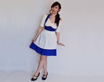 Belle Dress - Disneybound Dress - Blue Belle Dress - Blue Belle Costume - Provincial Life - Belle Costume - Belle - Town Dress - Adult