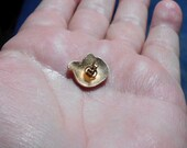 """One elephant 5/8"""" pendant with 3 mm bail opening."""