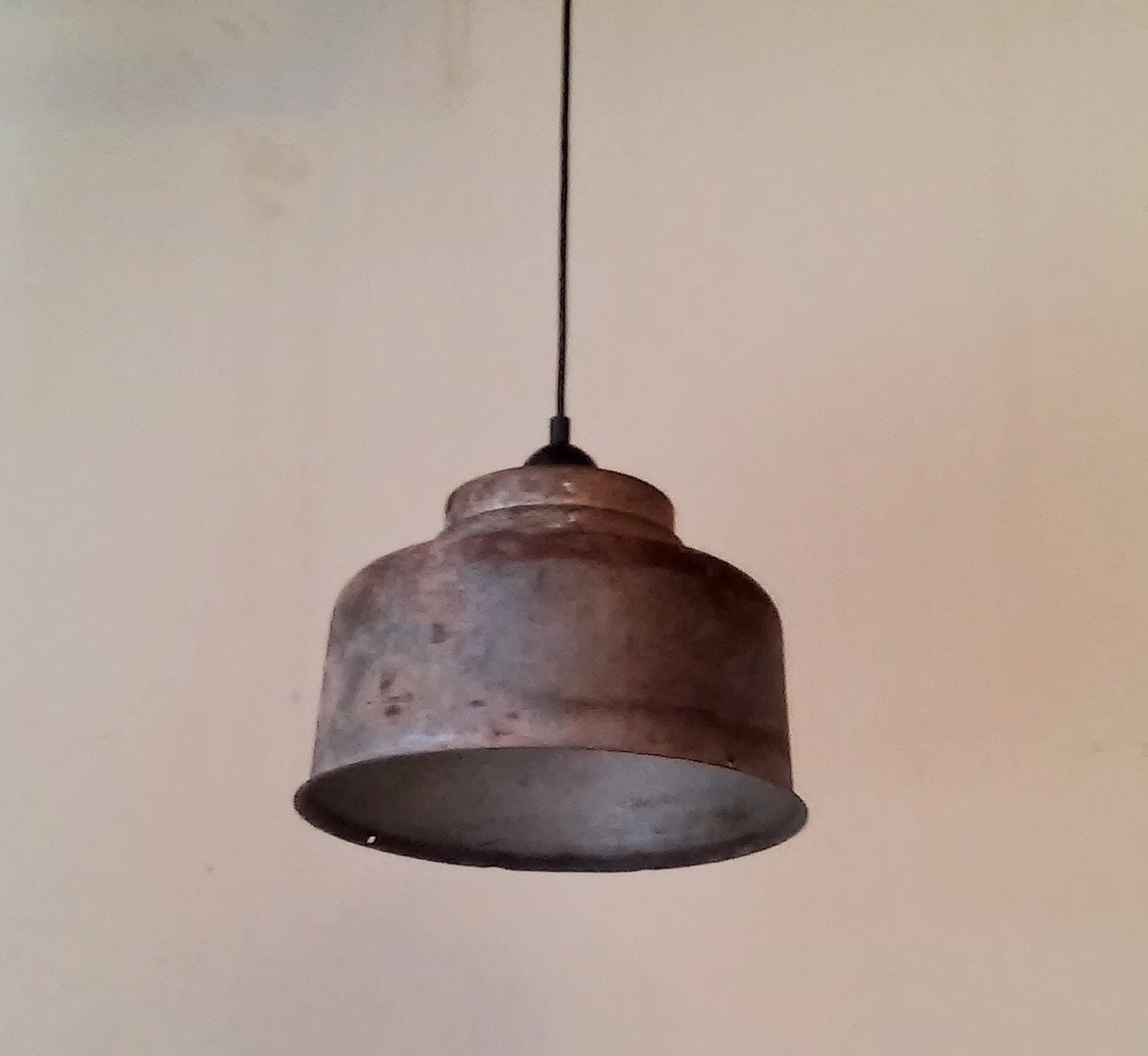 Milk Strainer Pendant Light Industrial Light Farmhouse