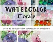 Simple Watercolor Florals