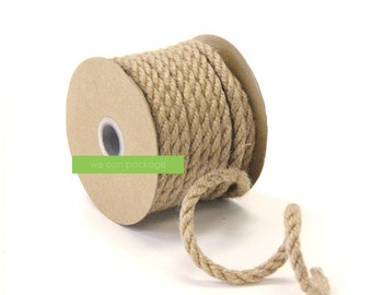 Thick Burlap Rope Jute Twine | 6mm x 10 yards