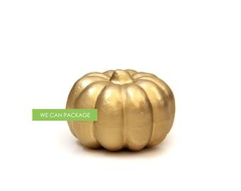 Gold Pumpkin for Thanksgiving Decoration