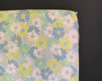 fitted boho crib sheet made with vintage sheet- Ready 2 Ship