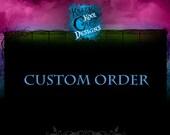 Custom Listing For Etsy Member ALISSA