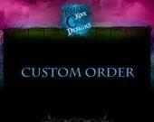 Custom Listing For Etsy Member N SHEL