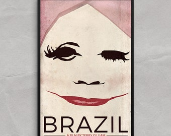 Brazil Movie Poster or Framed Print, Ida Lowry, Plastic Surgery Poster