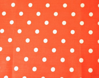 Red with White Dots - Destash Sale - Fat Quarter