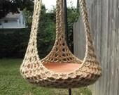 Custom Plant Hanger/Bird Feeder to fit extra large rectangular basket for C King