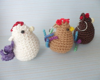 Amigurumi Chicken Pattern : Amigurumi chicken Etsy