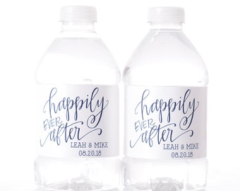 wedding water bottle labels 30 personalized wedding water bottle labels wedding bottle wraps