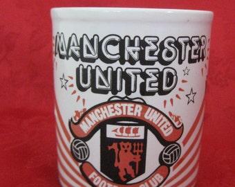 Vintage RARE Manchester United Mug