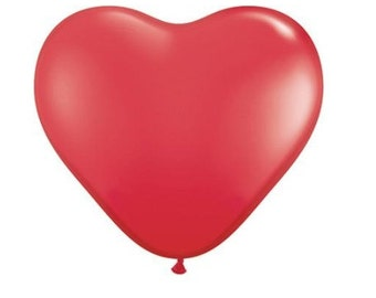 Giant Heart Balloon for weddings, Valentine Day, Photo props, Baby Showers Ready to Ship