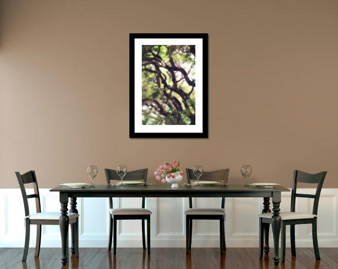 Dreamy Tropical Branches Photo Wall Decor