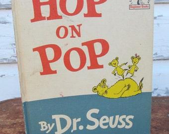 Dr. Seuss' Hop on Pop First Edition 1963