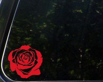 """CAR - Rose Blossom - Vinyl Decal Sticker for Cars 