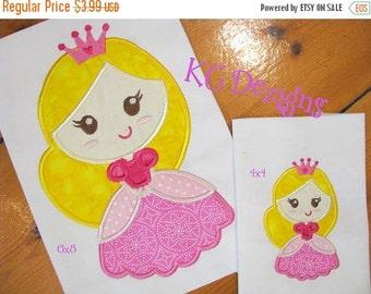 50% OFF SALE Fairy Princess 2 Machine Applique Embroidery Design - 4x4, 5x7 & 6x8