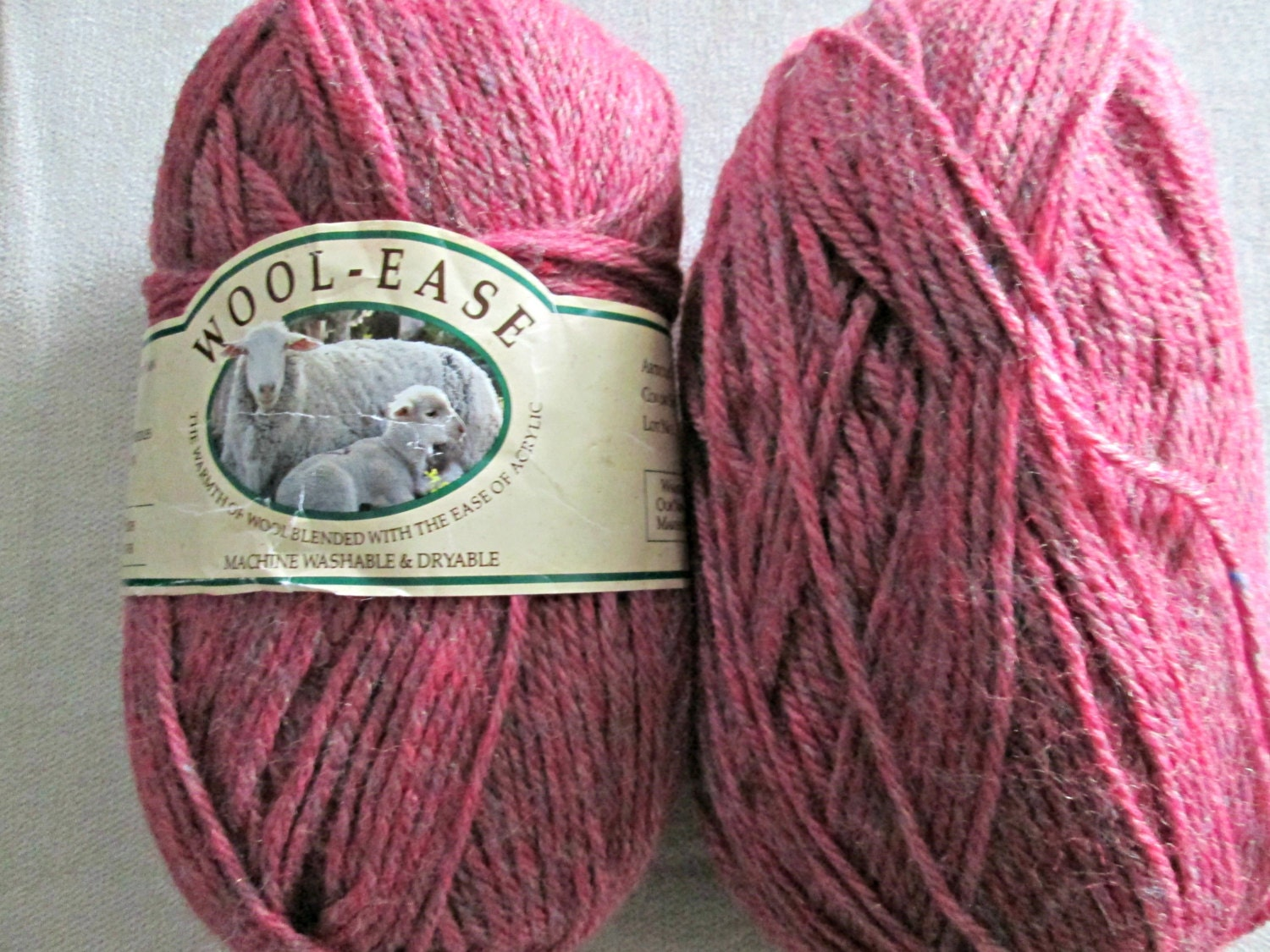 Lion Brand Wool Ease Worsted Weight Yarn Discontinued Color