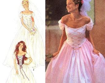 Wedding gown pattern | Etsy
