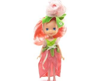 Rose Petal Place Doll Vintage 1980's Kenner DKP Toys with Dress & Hat