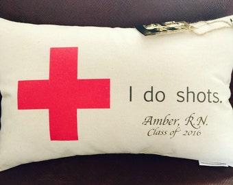 Personalized Nurse Pillow / Nursing School