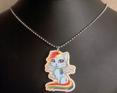 My Little Kitty Rainbow Dash Charm