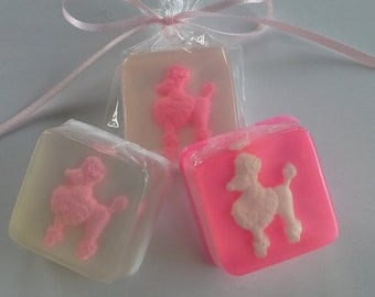 Pink Poodle Party Favors