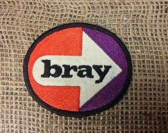 "Vintage ""Bray"" Sew On Patch - Trucker Biker Hat Jacket"