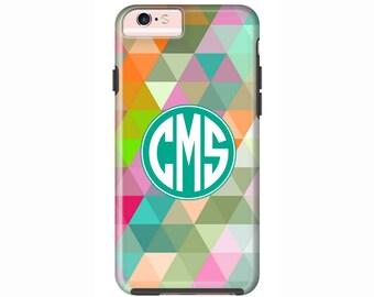Custom iPhone 7 Cases | Personalized Case Mate Tough or Barely There cases iPhone 7 Plus, iPhone 6, iPhone 6 Plus  & More - Geometric