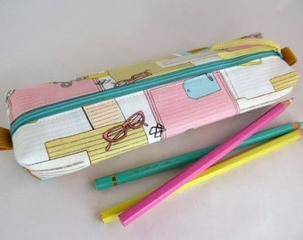 Cute Pencil Case - Cute Pencil Pouches - Zippered Pencil Pouch - Soft Pencil Case - Zippered  Pencil Cases