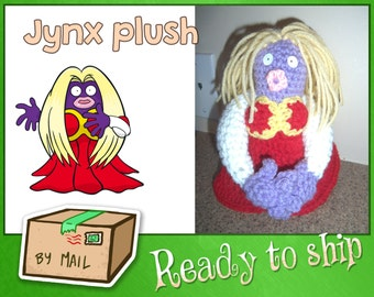 READY TO SHIP - Jynx crochet plush