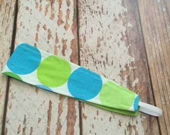 Reversible Fabric Headband -  Toddler Girl, Little Girl, Tween  - READY TO SHIP